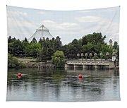 East Riverfront Park And Dam - Spokane Washington Tapestry