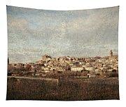 East Side Of Calahorra Tapestry