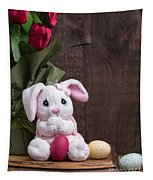 Easter Bunny Card Tapestry