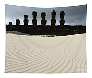 Easter Island 9 Tapestry