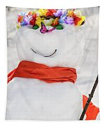 Easter Snowman Tapestry
