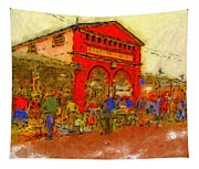 Eastern Market Tapestry