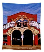 Eastern Market Painted Barn Tapestry