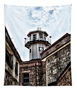 Eastern State Penitentiary Guard Tower Tapestry