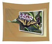 Eastern Tiger Swallow Tail Tapestry