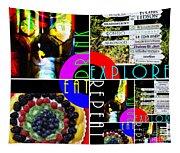 Eat Drink Explore Repeat 20140713 Horizontal Tapestry