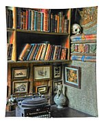 Eclectic Office Tapestry