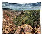 Edge Of The Black Canyon Tapestry