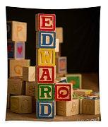 Edward - Alphabet Blocks Tapestry