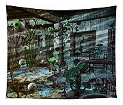 Eerie Location Tapestry