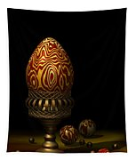Egg And Marbles Tapestry