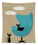 Egg Chair Tapestry