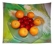 Egss Fruits And Flowers Tapestry