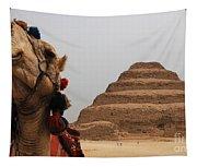 Egypt Step Pyramid Saqqara Tapestry