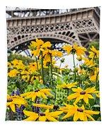 Eiffel Flower Tapestry