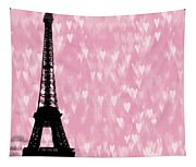Eiffel Tower - Love In Paris Tapestry