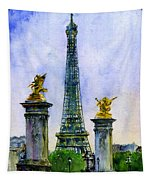 Eiffel Tower Paris Tapestry