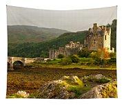 Eilean Donan Castle Scotland Tapestry