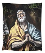 El Greco's The Repentant Saint Peter Tapestry