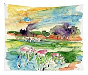 El Rocio 09 Tapestry