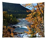 Elbow River View Tapestry