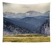 Eldorado Canyon And Continental Divide Above Tapestry