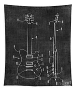 Electric Guitar Patent 039 Tapestry