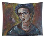 Electric Light Frida Tapestry