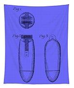 Electric Razor Patent 1939 Tapestry