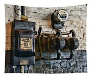 Electrical Energy Safety Switch Tapestry