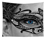 Elegant Mask Tapestry