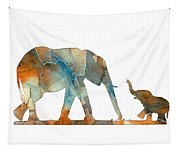 Elephant 01-2 Tapestry