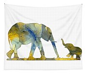 Elephant 01-4 Tapestry