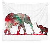 Elephant 01-6 Tapestry