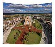 Elevated View Of Ave Maria Oratory Tapestry