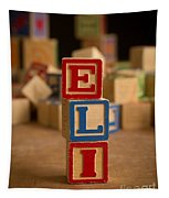 Eli - Alphabet Blocks Tapestry