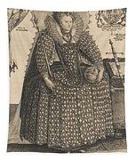 Elizabeth, Queen Of England, C.1603 Tapestry