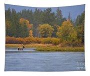Elk Crossing Tapestry