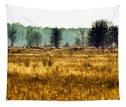 Elk In The Distance No. 1 Tapestry
