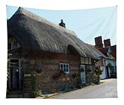 Elm Cottage Nether Wallop Tapestry