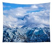 Embraced By Clouds Tapestry