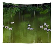 Emerald Beauty Tapestry