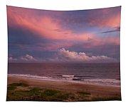 Emerald Isle Sunset Tapestry