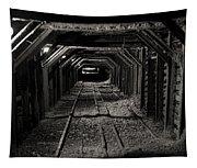 Empire Mine Shaft Tapestry