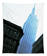 Empire State Building Tapestry by Dave Bowman