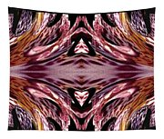 Empress Abstract Triptych Tapestry