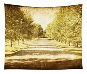 Empty Road Tapestry