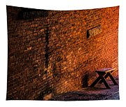 Empty Seat On A Hill Tapestry