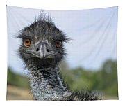 Emu Gaze Tapestry