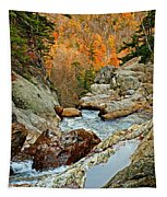 En Route To Glen Ellis Falls Tapestry